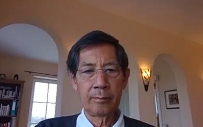 Medisch, 13-07-2021, Willem spreekt met professor Sucharit Bhakdi