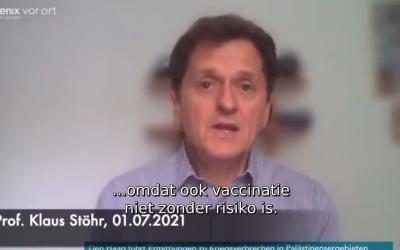 Medisch, 01-07-2021, Prof. Stöhr over risicoafweging vaccins voor kinderen
