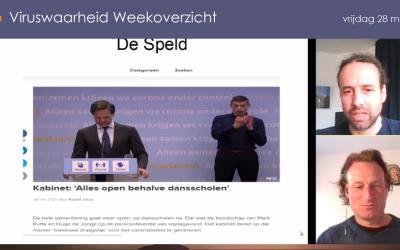 Weekoverzicht, 28-05-2021, Jeroen en Willem nemen de week door
