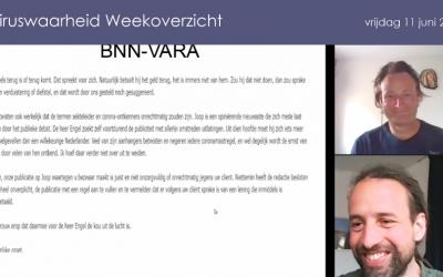 Weekoverzicht, 11-06-2021, Jeroen en Willem nemen de week door