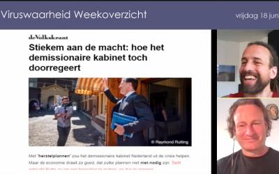 Weekoverzicht, 18-06-2021, Jeroen en Willem nemen de week door