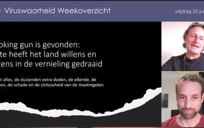 Weekoverzicht, 25-06-2021, Jeroen en Willem nemen de week door