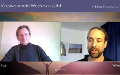 Weekoverzicht, 06-08-2021, Jeroen en Willem nemen de week door