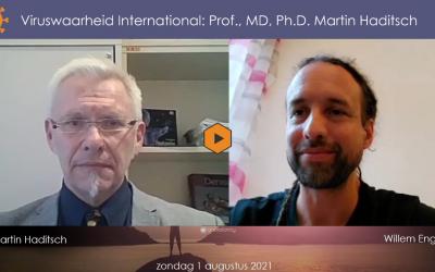 Wetenschap, 01-08-2021, Willem in gesprek met Prof. Dr. Martin Haditsch