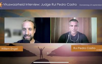 Maatschappij, 24-09-2021, Willem in gesprek met rechter Rui Pedro Castro