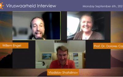 Medisch, 06-09-2021, Interview met Prof. Dr. Dolores Cahill en Vladislav Shafalinov