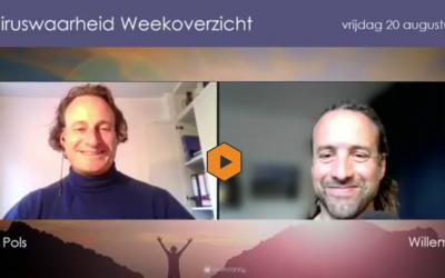 Weekoverzicht, 20-08-2021, Jeroen en Willem nemen de week door