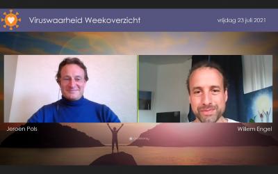 Weekoverzicht, 23-07-2021, Jeroen en Willem nemen de week door