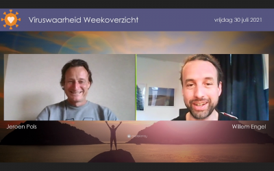 Weekoverzicht, 30-07-2021, Jeroen en Willem nemen de week door