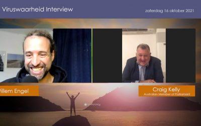 Media, 16-10-2021, Willem Engel interviewt Craig Kelly