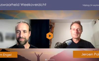 Weekoverzicht, 24-09-2021, Jeroen en Willem nemen de week door